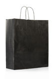Black paper bag Royalty Free Stock Photos