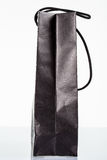 Black paper bag Royalty Free Stock Photography