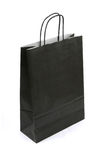 Black paper bag Royalty Free Stock Photo