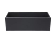 black paper box Stock Photo