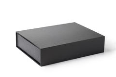 black paper box Royalty Free Stock Photos