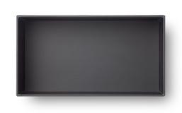 black paper box Stock Image