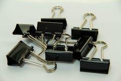 ฺBlack paper clip Stock Images