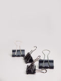 Black Paper clip Stock Photography