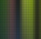 Black paper grid layout for design notebook and any office blanks, documents on overflow green colors gradient background. Stock Photos