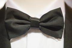 Black papillon tie Stock Photography
