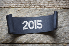 Black papper with 2015 Stock Images