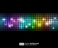 Black party abstract background Stock Image