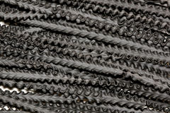 Black pasta Stock Images