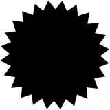Black patch Royalty Free Stock Image