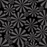Black pattern. Royalty Free Stock Photography