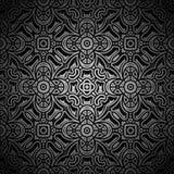 Black pattern Royalty Free Stock Photography