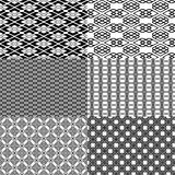 Black pattern Stock Photos