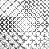 Black pattern Stock Images