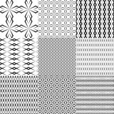 Black pattern Royalty Free Stock Image