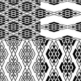 Black pattern Stock Photography