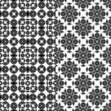 Black pattern Royalty Free Stock Images