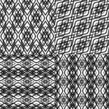 Black pattern Stock Photos