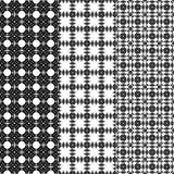 Black pattern Stock Image