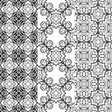 Black pattern Royalty Free Stock Photos