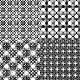 Black pattern Royalty Free Stock Image