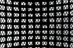 Black patterned net tile texture Royalty Free Stock Images