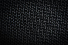 Black patterned textiles. Royalty Free Stock Image