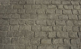 Black Pavement texture. Street floor Royalty Free Stock Image