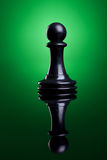 Black pawn Stock Image