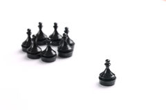 black pawns Stock Images
