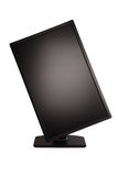 Black PC monitor (Clipping path) Stock Photography