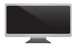 Black pc monitor Stock Photos