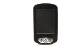 Black PDA phone Stock Photography