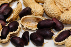 Black peanuts Royalty Free Stock Photography
