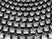 Black pearls Royalty Free Stock Images