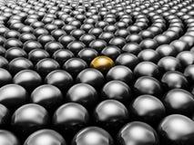 Black pearls Stock Photo
