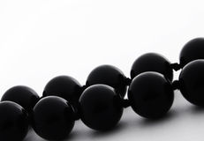 Black pearls Stock Photos