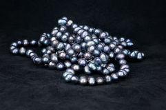 Black pearls2 Royalty Free Stock Photos