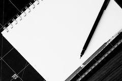 Black Pen Royalty Free Stock Images