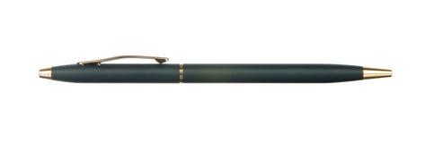 Black pen isolated on white. Background Stock Image