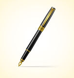 Black pen Stock Photography