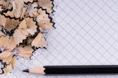 Black pencil Royalty Free Stock Photo