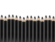 Black Pencil Royalty Free Stock Images