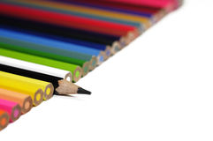 Black pencil and other Royalty Free Stock Images