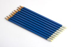 Black pencil Royalty Free Stock Photography