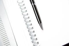 Black Pencil on sheet Stock Image