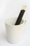 Black pencil. Stock Image