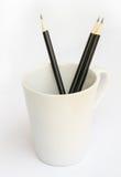 Black pencil. Stock Photos