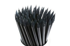 Black Pencils Royalty Free Stock Photo