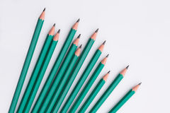 Black pencils Royalty Free Stock Photography